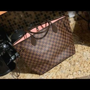 Accessories - Louis Vuitton Neverfull MM Damier with pouch